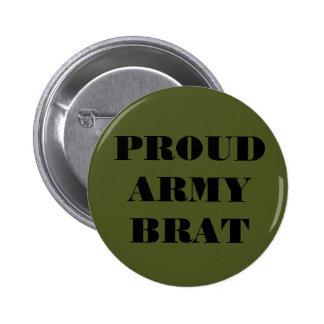 Palo de golf orgulloso del ejército del botón