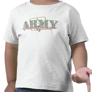 Palo de golf orgulloso del ejército camiseta