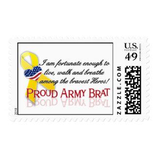 Palo de golf orgulloso del ejército (rojo) sello