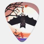 Palo de Halloween en árbol Uñeta De Guitarra