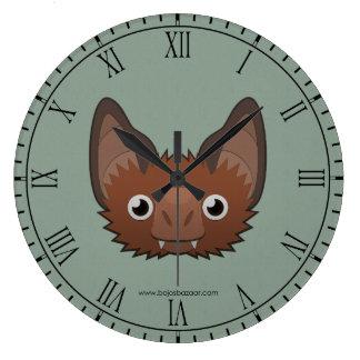 Palo de vampiro de papel reloj redondo grande