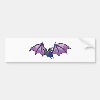 palo de vampiro feliz pegatina de parachoque