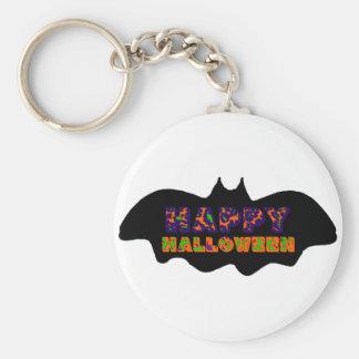 Palo del feliz Halloween Llavero Personalizado