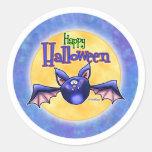 Palo del feliz Halloween Pegatina