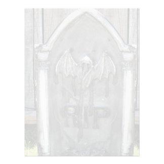 Palo del RASGÓN de la piedra sepulcral de Hallowee