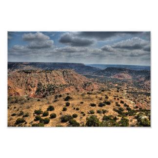 Palo Duro Canyon, Texas Photo Print