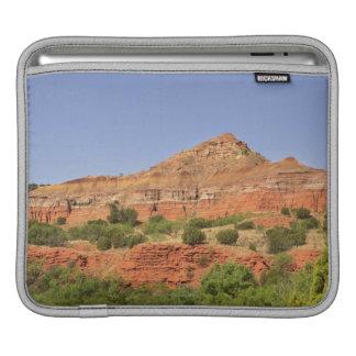 Palo Duro Canyon, Texas.  Successive rock layers iPad Sleeve