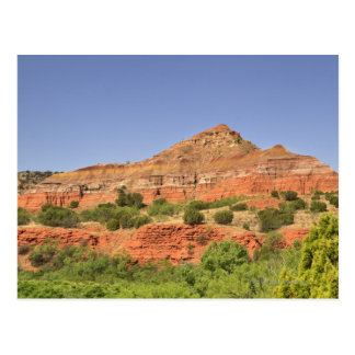 Palo Duro Canyon, Texas.  Successive rock layers Postcard