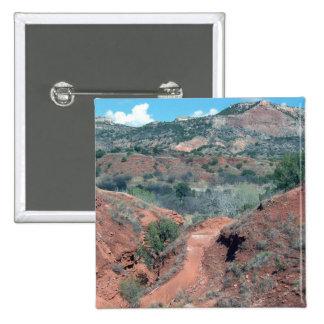 Palo Duro Canyon Trail Pinback Button