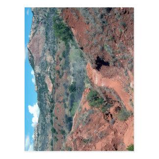 Palo Duro Canyon Trail Postcard
