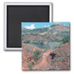 Palo Duro Canyon Trail Refrigerator Magnet