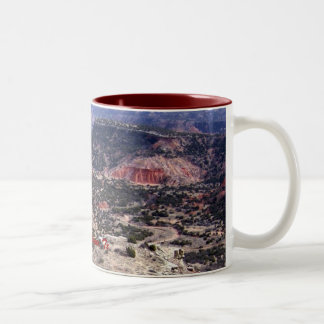 Palo Duro Canyon, Tx Two-Tone Coffee Mug