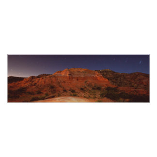 Palo Duro Night Scene Poster