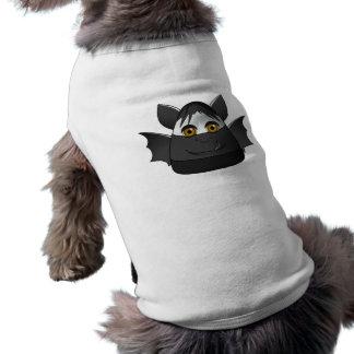 Palo espeluznante de las pastillas de caramelo camiseta de perrito