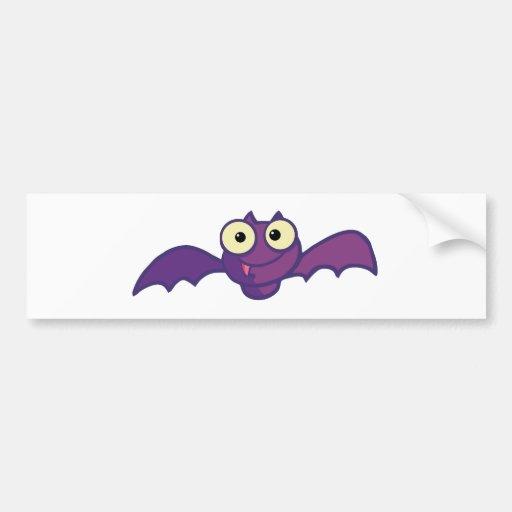 Palo feliz de Halloween del personaje de dibujos a Pegatina Para Auto