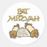 Palo Mitzvah Pegatinas