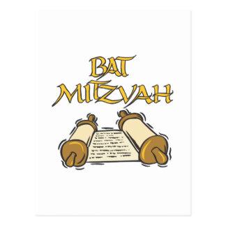 Palo Mitzvah Tarjeta Postal