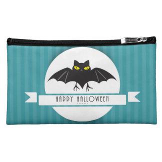 Palo moderno del feliz Halloween en rayas