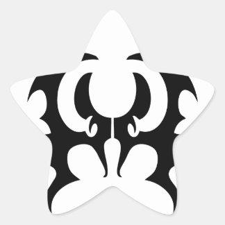 palo pegatina en forma de estrella