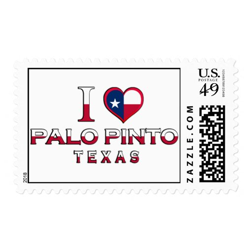 Palo Pinto, Texas Postage