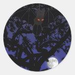 Palo Rojo-Observado en pegatina del árbol