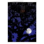 Palo Rojo-Observado en tarjeta del árbol
