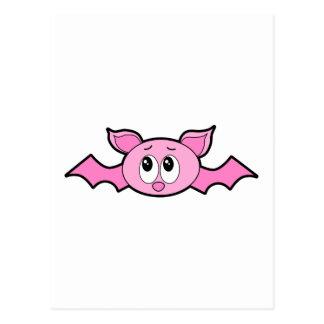 Palo rosado lindo tarjeta postal