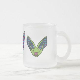 Palo (taza del vidrio esmerilado) taza cristal mate