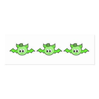 Palo verde que lleva un sombrero tarjetas de visita mini