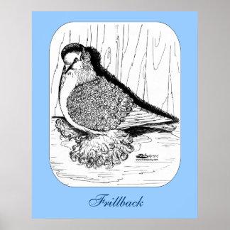 Paloma 1978 de Frillback Póster
