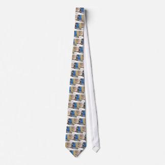 Paloma autoguiada hacia el blanco corbata personalizada