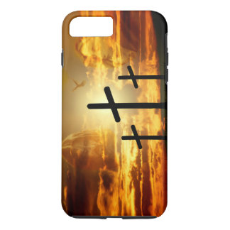 Paloma bendecida Jesucristo Calvery del Virgen Funda iPhone 7 Plus
