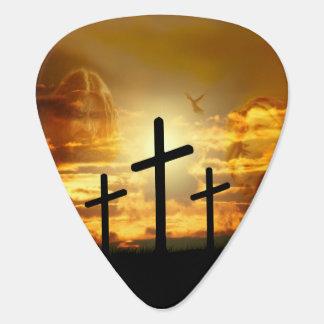 Paloma bendecida Jesucristo Calvery del Virgen Plumilla De Guitarra