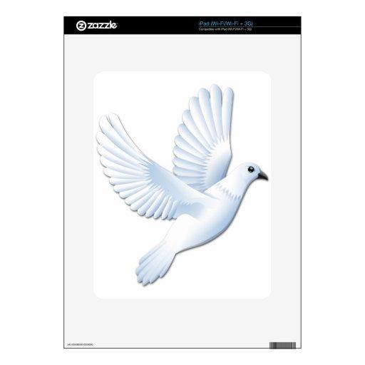 Paloma Calcomanías Para El iPad
