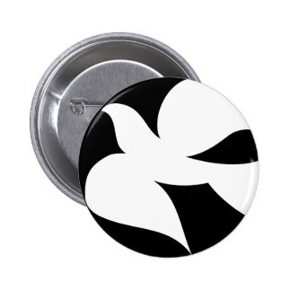 Paloma circular de la paz pin