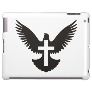 Paloma con la cruz funda para iPad