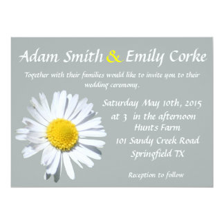 Paloma Daisy Wedding Invitation