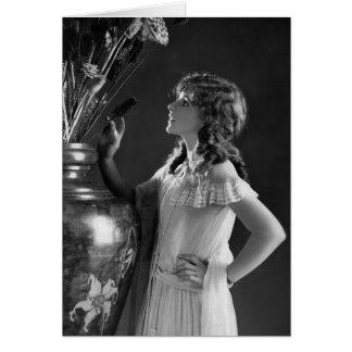 Paloma de Billie/Lillian Bohny Tarjeta De Felicitación