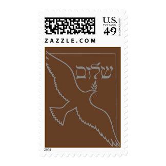 Paloma de la paz, Brown del sello de la invitación