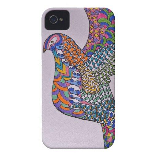 Paloma de la paz Case-Mate iPhone 4 fundas
