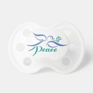 Paloma de la paz chupete