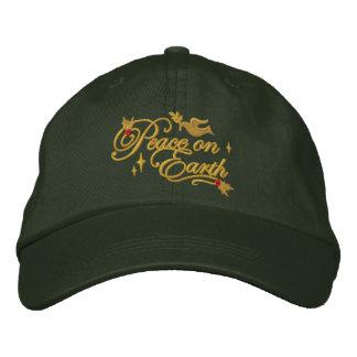 Paloma de la paz gorras bordadas