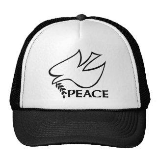 Paloma de la paz gorro