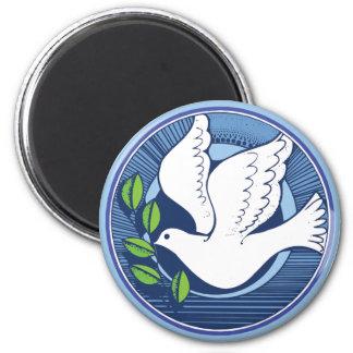 Paloma de la paz iman de frigorífico