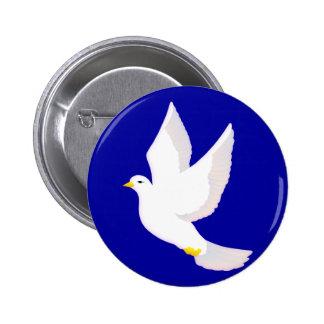 Paloma de la paz pin