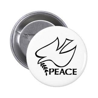 Paloma de la paz pins