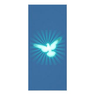 Paloma de la paz plantilla de lona