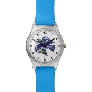 Paloma de la paz reloj