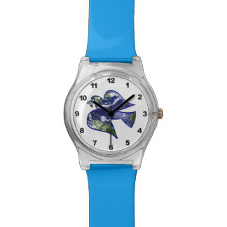 Paloma de la paz relojes de mano