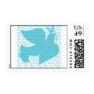 Paloma de la paz sellos